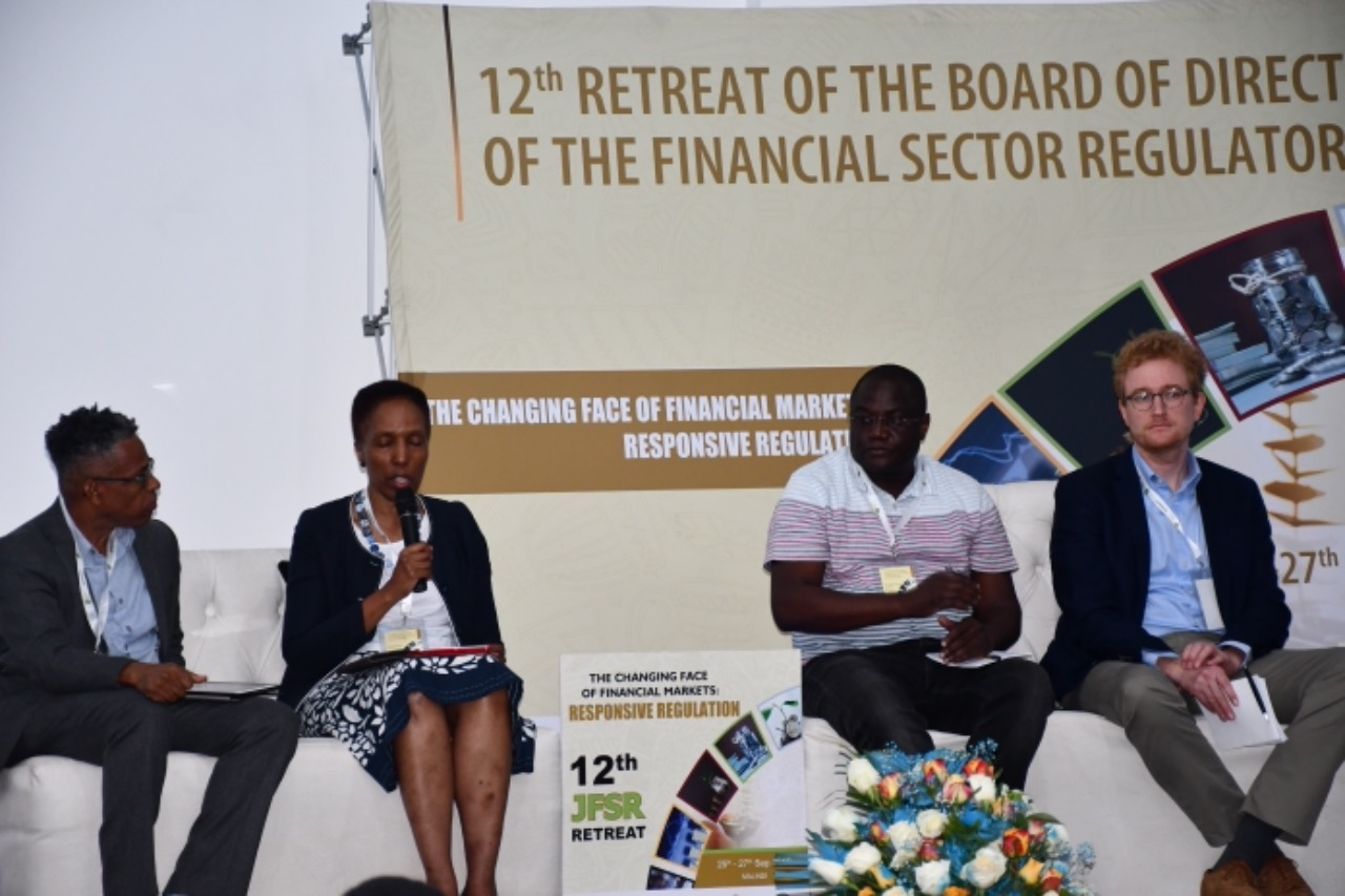 Panel discussion during the Joint Financial Sector Regulators Retreat.